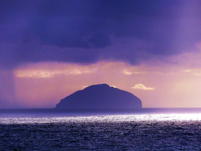 Ailsa Craig, Firth of Clyde, Scotland