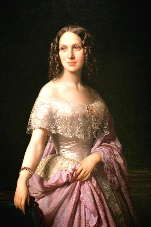 异国画苑(678)转画家John Bagnold Burgess的美人图 - 笑然 - xiaoran321456 的博客