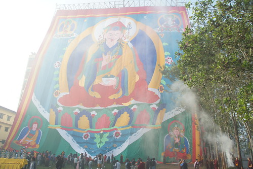 Giant Thankga of Guru Rinpoche