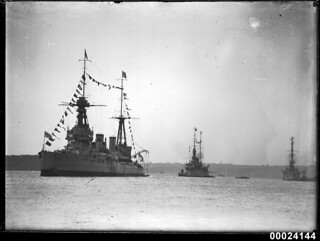 HMS NEW ZEALAND in Sydney Harbour
