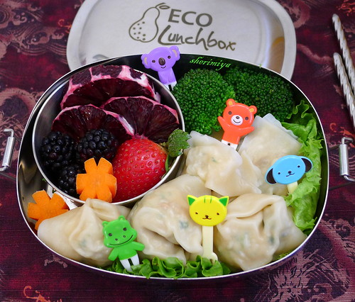 Wonton Friends Bento by sherimiya ♥