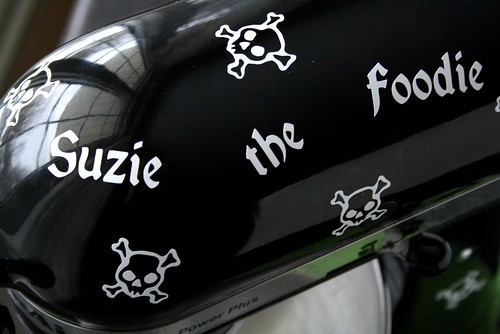 Skull Mixer Decals StickersByDesign