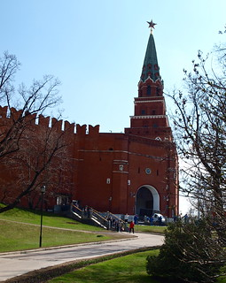 The Borovitskaya Tower.