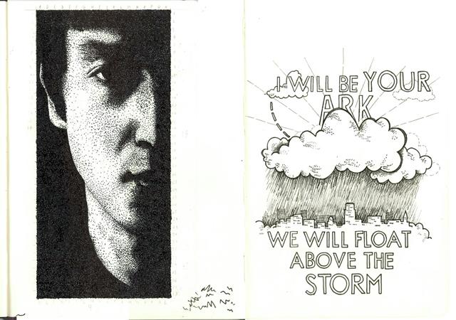Ian's sketchbook