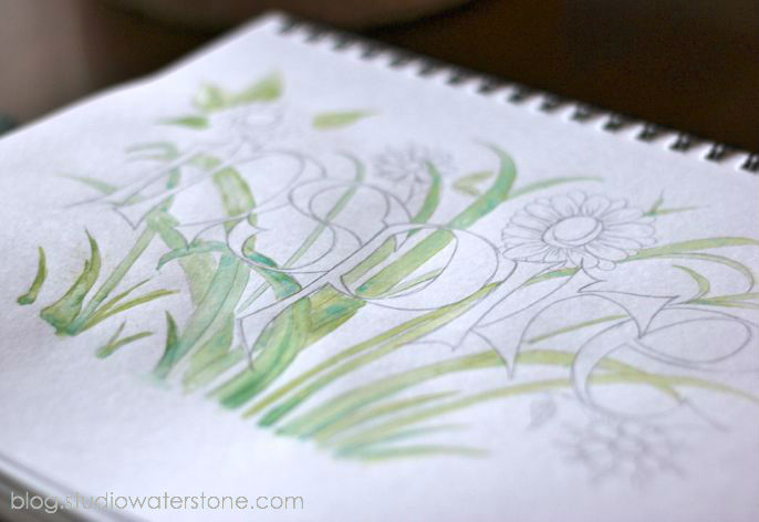 studio waterstone sketchbook