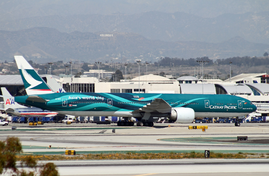 Special Livery - Cathay Pacific, Boeing 777-300ER,