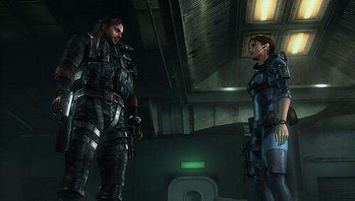 Resident Evil Revelations - Jill and Parker