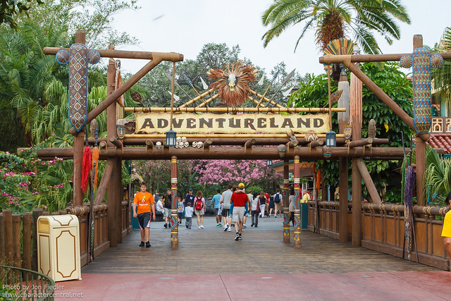 WDW Feb 2012 - Heading to Adventureland