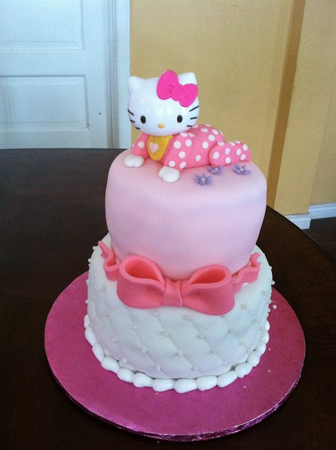 hello kitty baby shower cake flickr photo sharing
