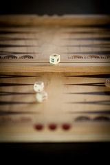 Richard's backgammon board