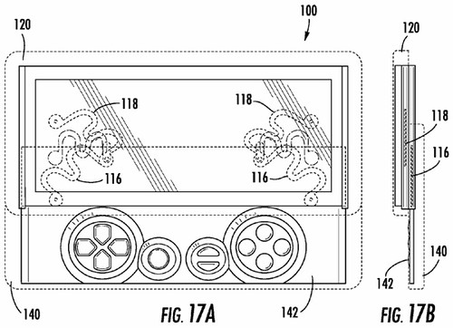 Patent for Xperia Play?