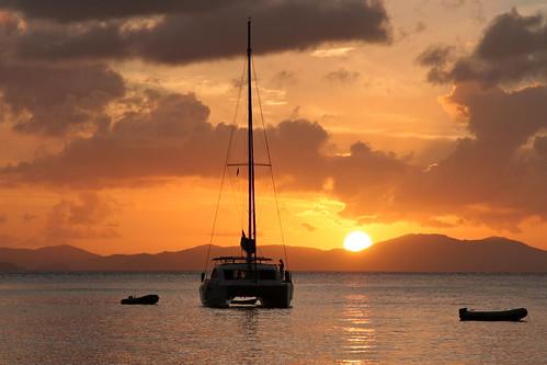 boat sailing bateau voilier bvi
