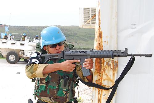 Satgas POM TNI Siap Hadapi Ancaman di Lebanon