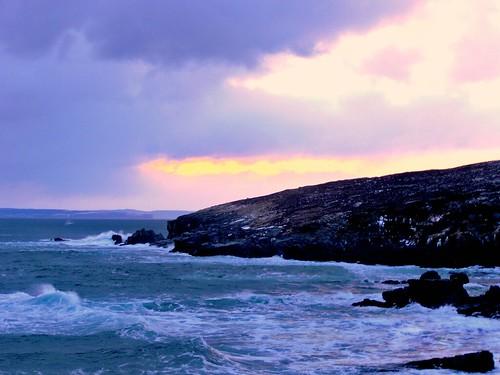 winter sunrise bayroberts madrocks shorelineheritagewalk