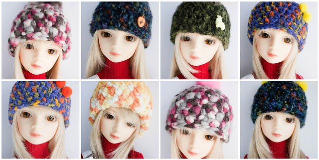 New hats for SD13 Girl!