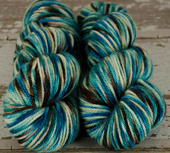 """Opal Reef"" UK BFL Aran"