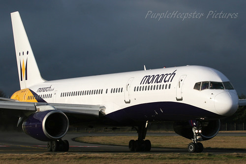 Monarch Airlines B757-200 G-DAJB