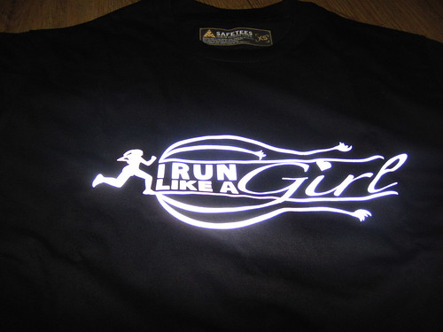 "Kikay Runner X Safe Tees ""I RUN LIKE A GIRL"""