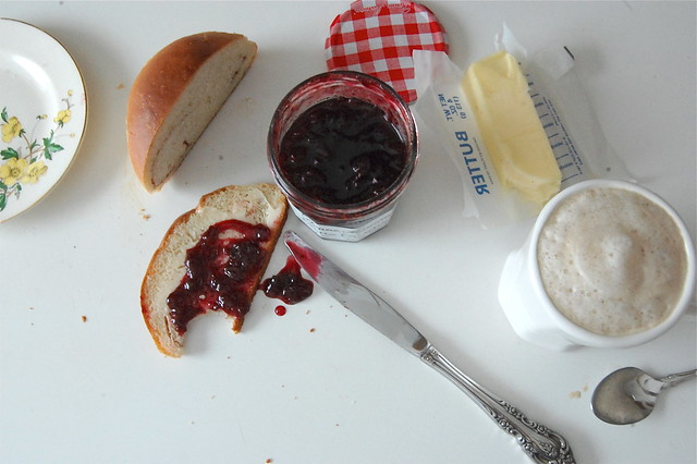 a little bread and jam