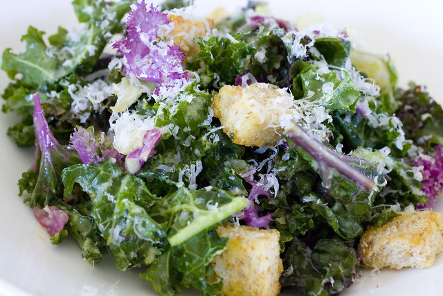 Kale Caesar Salad | Flickr - Photo Sharing!