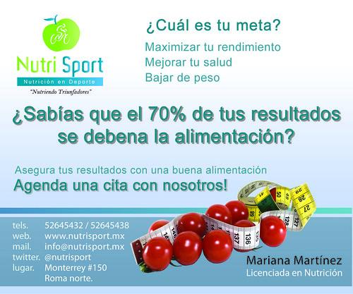 NutriSport -Nutricion Deportiva