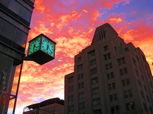 sunset sky building clock méxico architecture mexico atardecer arquitectura mexicocity edificio cielo reloj ciudaddeméxico booxmiis