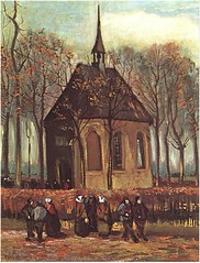 Congregation-Leaving-the-Reformed-Church-in-Nuenen-VanGogh
