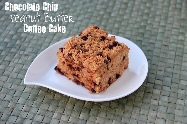Chocolate Chip Peanut Butter Coffeecake