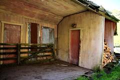 Old house, Tahora, Taranaki, New Zealand