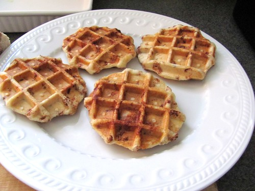 Waffled Pillsbury Cinnamon Buns, inspired by Pinterest