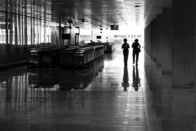 Barcelona airport 2012, par Franck Vervial