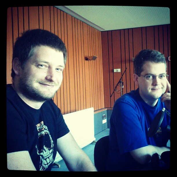 DRadio Wissen / at the studio