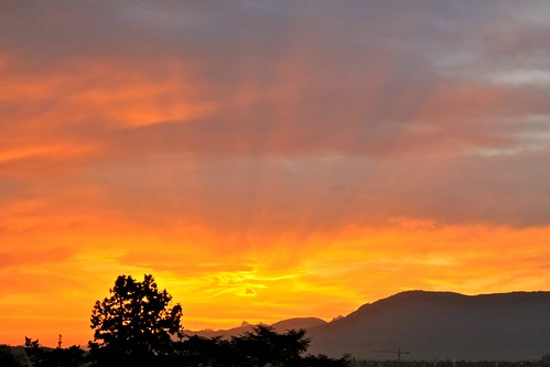 Sunrise in Geneva