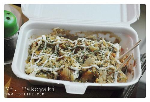 The package takoyaki Melawai Jakarta