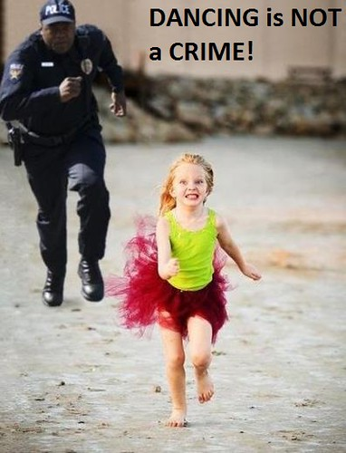 dancing is not a crime
