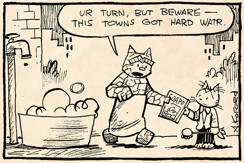 Laugh-Out-Loud Cats #1958 by Ape Lad