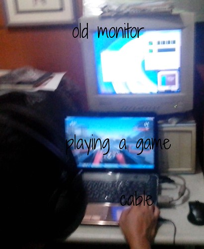 Using an Old CRT Monitor