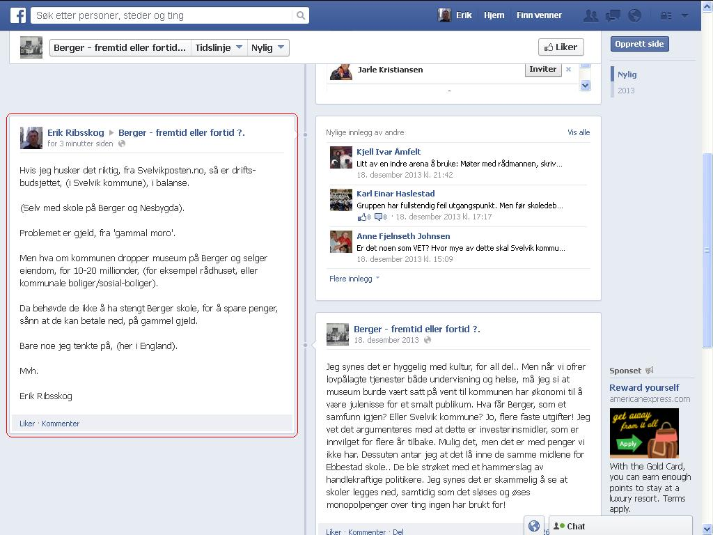 facebook berger
