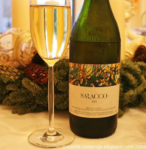 Saracco Flasche 2001