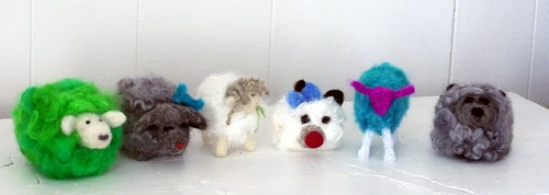 Felted Flock
