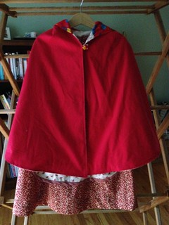 Rose Red Cape
