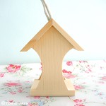 Mini bird house feeder