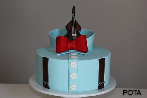 Gâteau chemise, torta kosulja, shirt cake, kontrabas , contrebasse