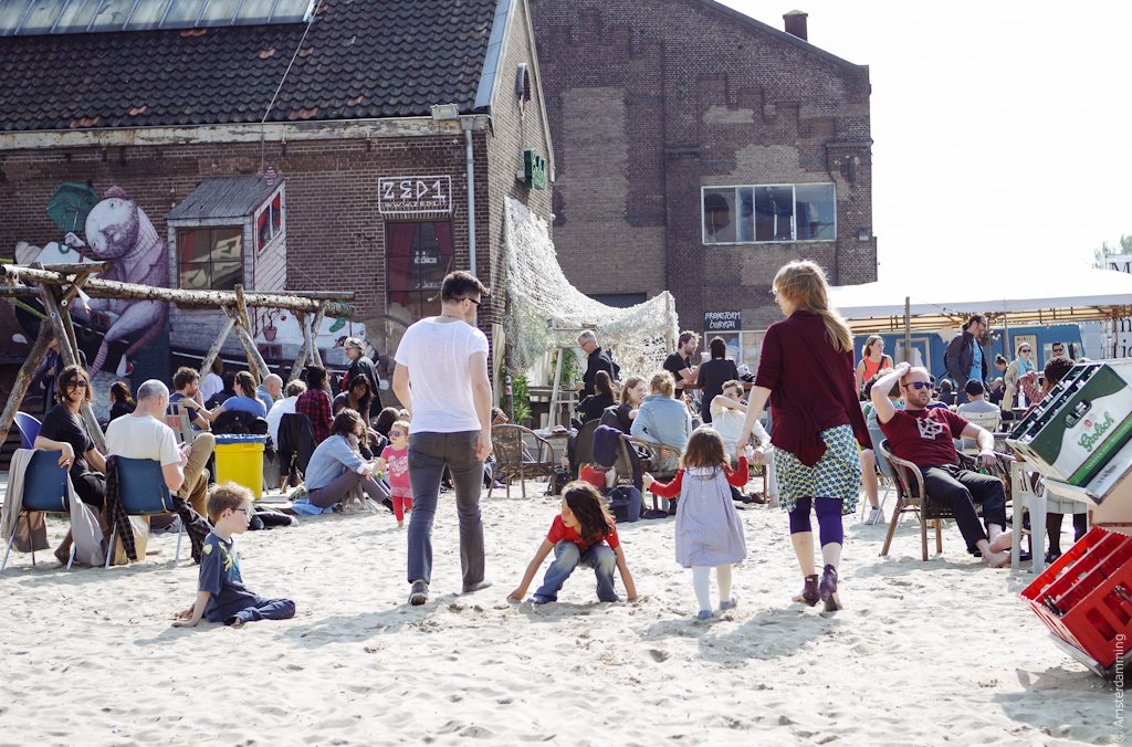 Amsterdam, Easter Sunday at Roest