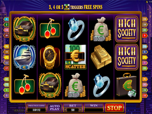 High-Society slot game online review