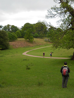 Knole House and deer park