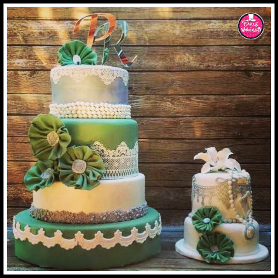 Vintage Theme Cake by Diana Laxamana of The Cakes in Wonderland (Where Dream Cakes Do Come True)