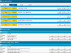 Betvictor Tennis In-Play