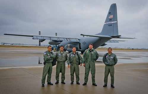 Ecuador Air Force visits the Kentucky Air Guard