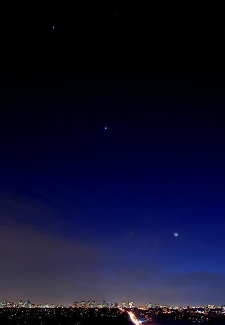 moon and jupiter alignment - photo #14